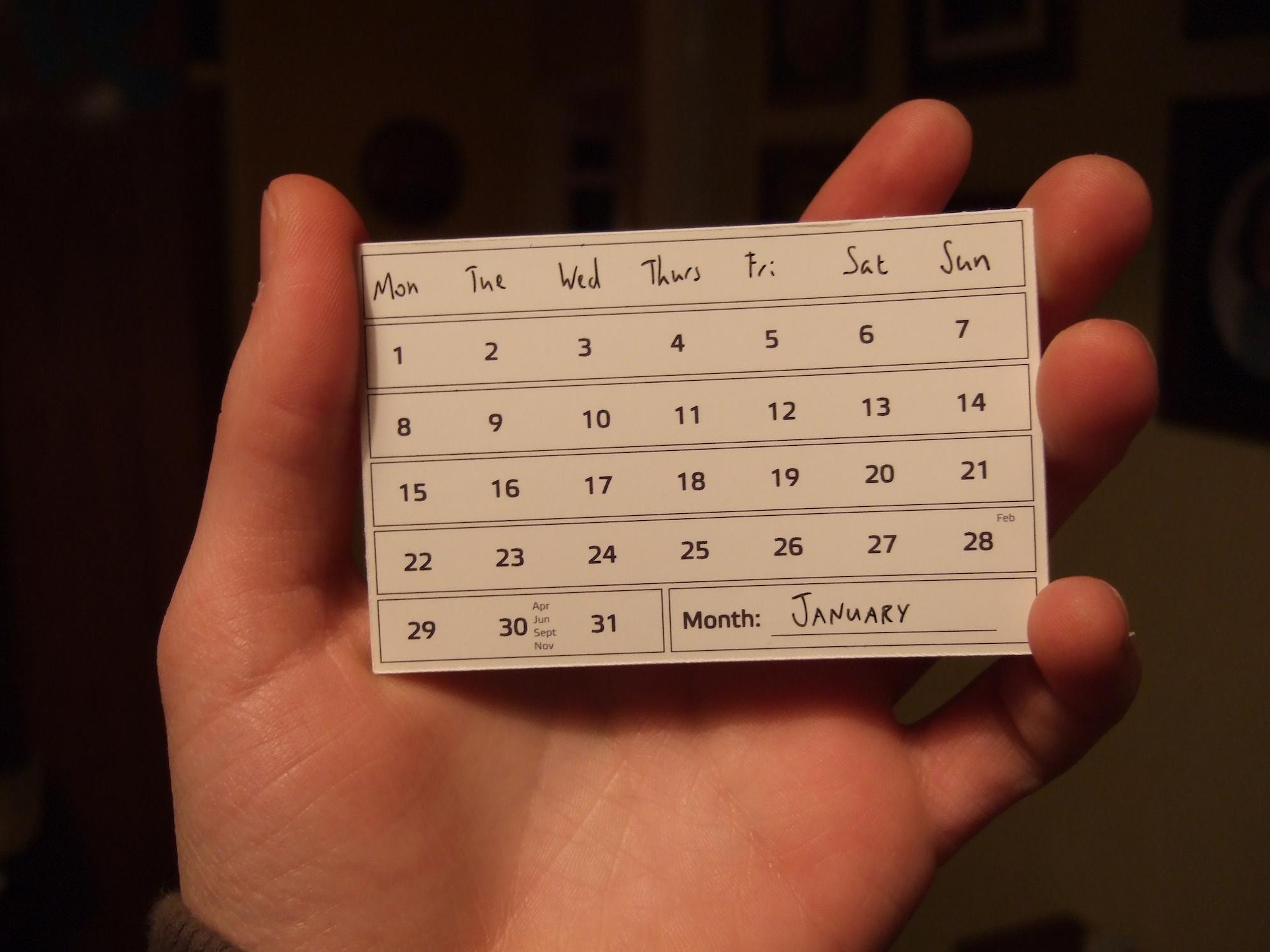 LSAT Study Schedule Calendar (attribution Joe Lanman)